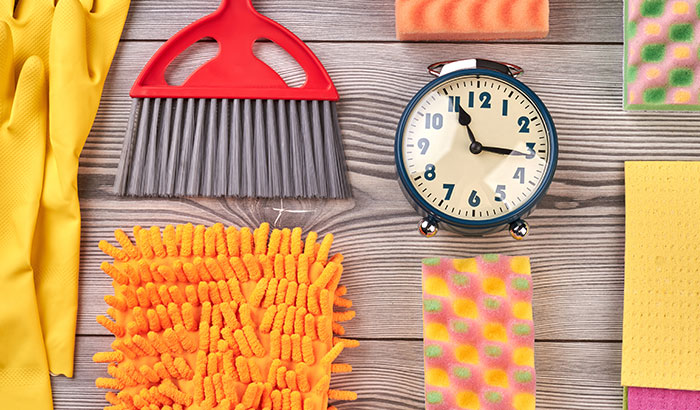 This is How Much Time the Average Person Spends Cleaning Their Home